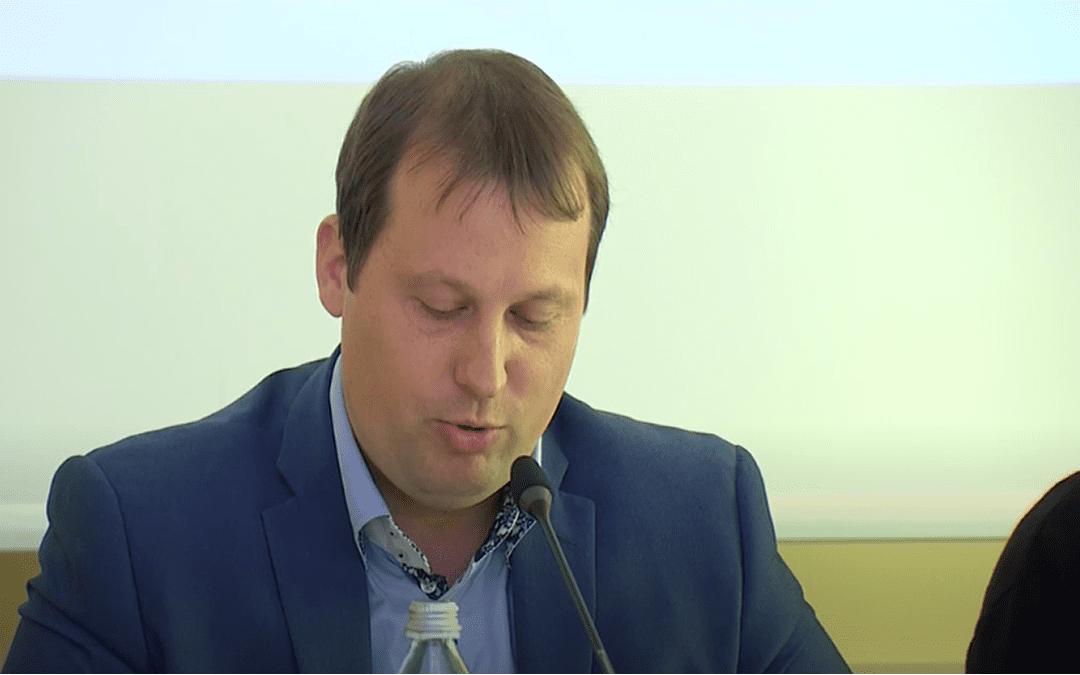Prva tiskovna konferenca – Igor Vovk