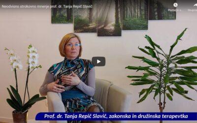 Pogovor z zakonsko in družinsko terapevtko prof. dr. Tanjo Repič Slavič